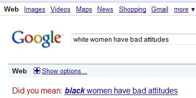Google hates black women