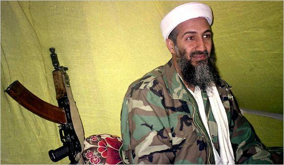 osama bin sleeping. the same company Osama bin