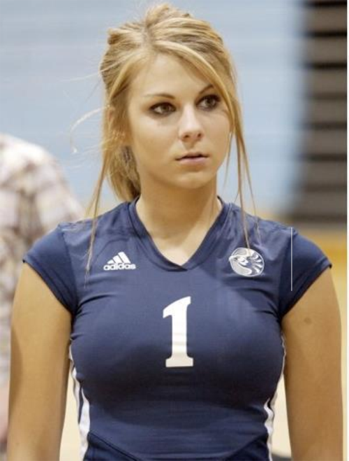 Volleyball Girls The Best Female Athletes-4869