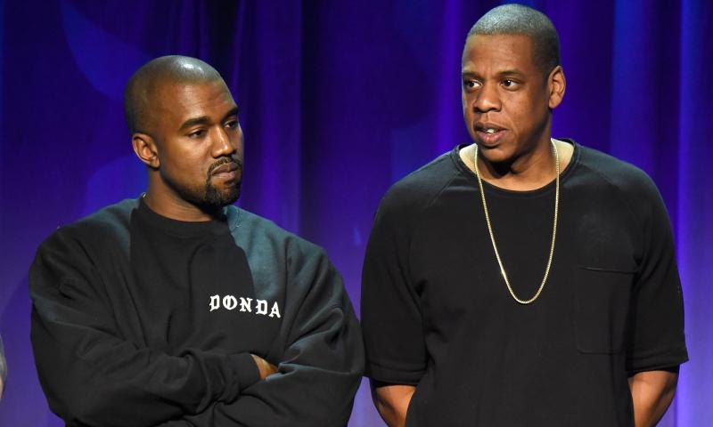Jay and Kanye