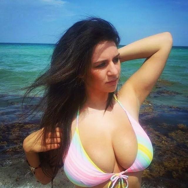 Black boob huge woman