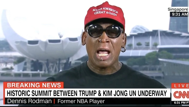 Dennis Rodman risked it all for world peace