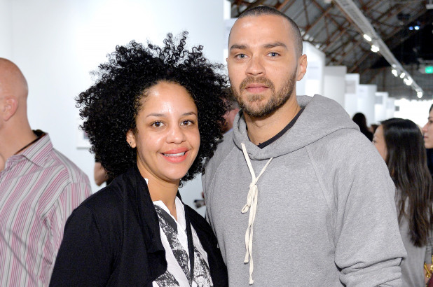 Jesse Williams' handsome ex-wife took him to the cleaners